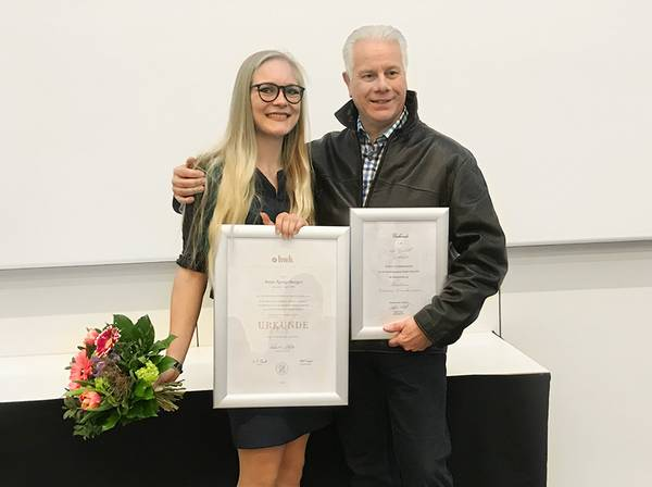 Anna Spiegelberger is the best trainee in metal working in Swabia.