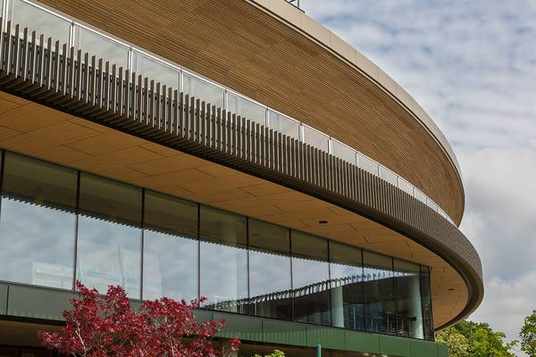 Perfect know-how in different façade types for Wimbledon No.1 Court by seele