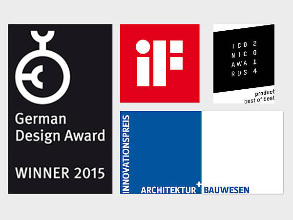 Façade constructor seele was rewarded with the iF Design Award, Architektur+Bauwesen and the German Design Award thanks to its newly developed façade solution iconic skin in the year 2015.