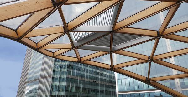 seele ist the first company to use timber and ETFE together in a project.