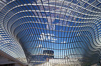 Chadstone Shopping Centre in Chadstone near Melbourne. A steel-and-glass roof by se-austria.
