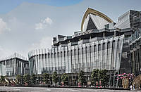 A new glamorous 750,000sqm landmark ICONSIAM with all-glass design from facade specialist se-austria.