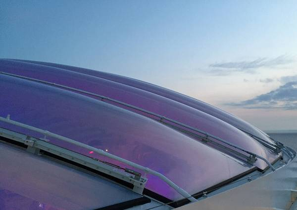 Membrane specialist seele was responsible for the design and construction of four ETFE foil roofs on two new ships belonging to the AIDA Cruises line.