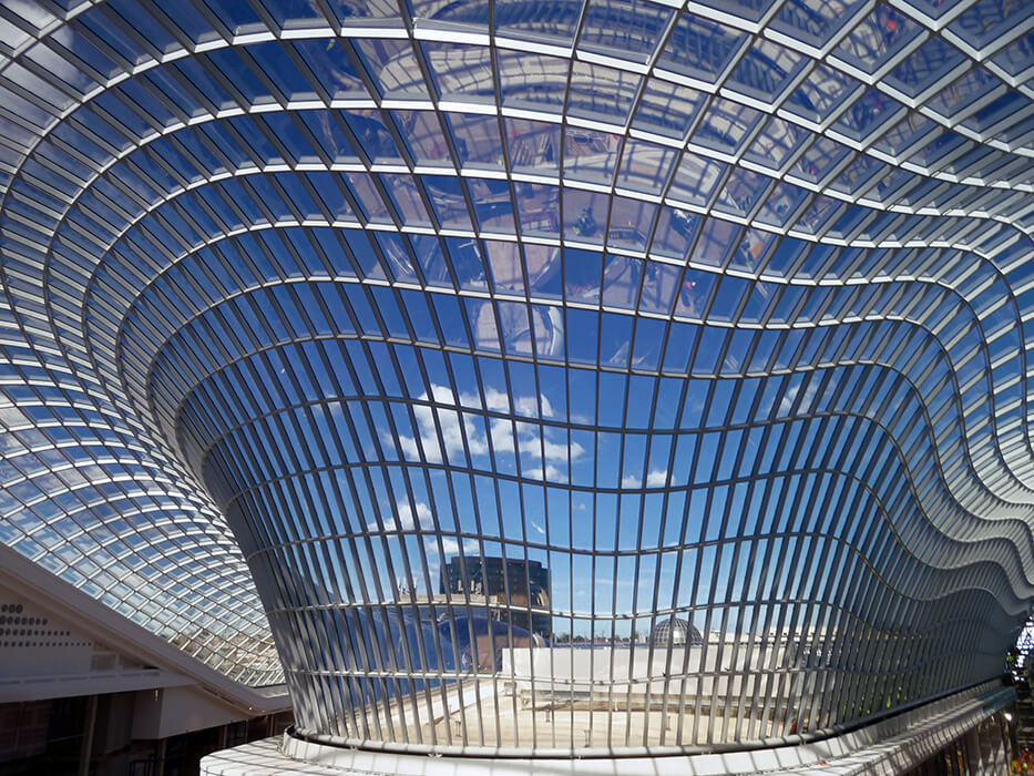 Chadstone Shopping Centre In Melbourne Steel And Glass Roof Seele