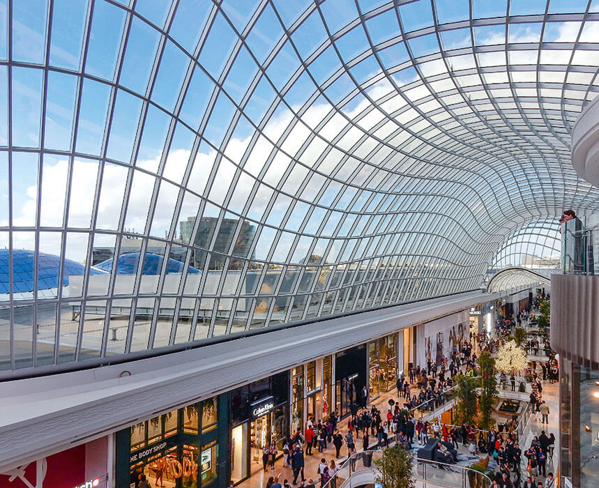 Chadstone Shopping Centre In Melbourne Steel And Glass