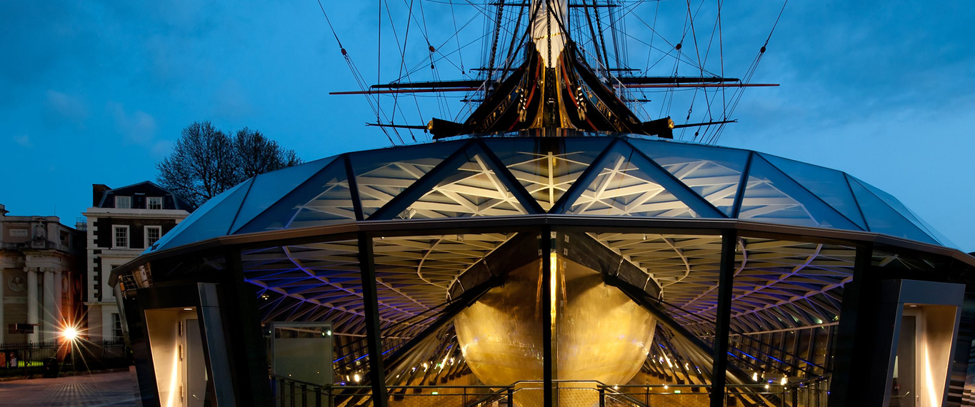 seele manufactured a glass canopy for the 100-year-old Cutty Sark in Greenwich, London.
