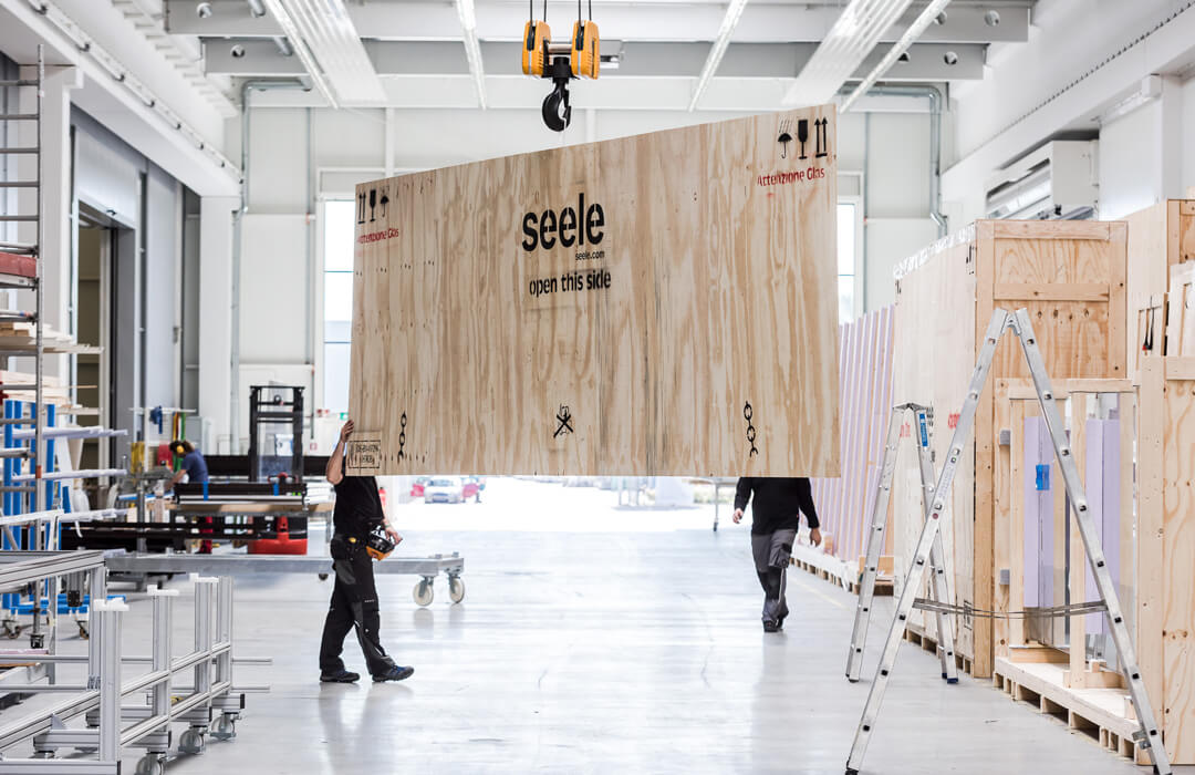 Logistics by seele in Gersthofen